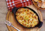 recette de gratin de légumes au fromage de brebis