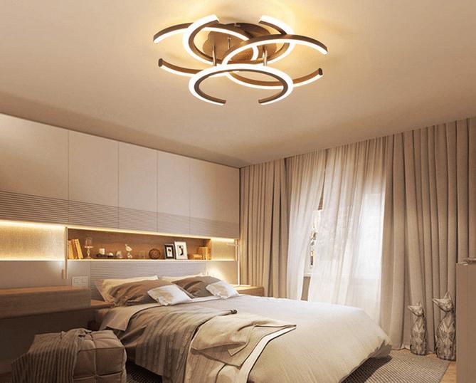 Luminaires Interieur Plafonnier Led De Salon A Intensite Variable